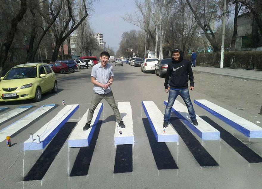 3d-street-art-prevent-speed-breakers-india-6