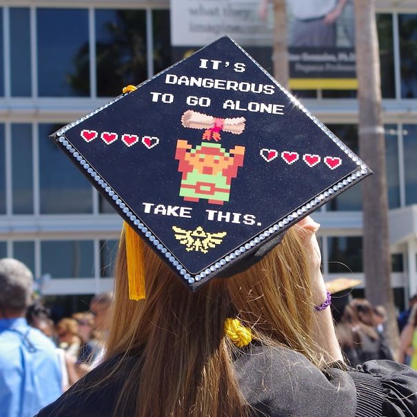 15+ Funny Graduation Cap Owners Who Will Go Far In Life | Bored Panda