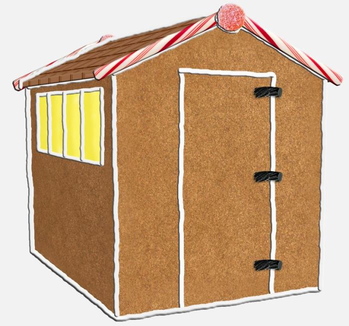 A Gingerbread Shed?