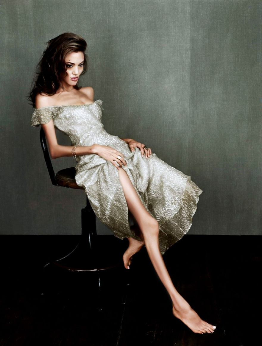 Angelina Jolie By Newzazita From Worth1000