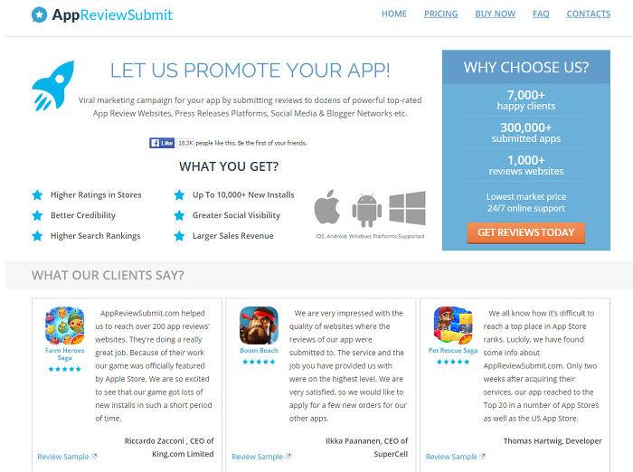 App Review Service