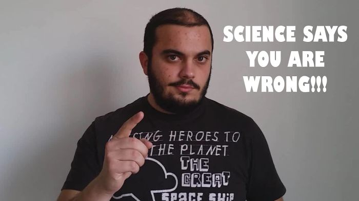 How To Prove Someone Wrong Scientifically