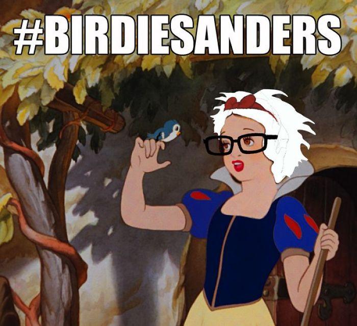 #birdiesanders (tweet It)