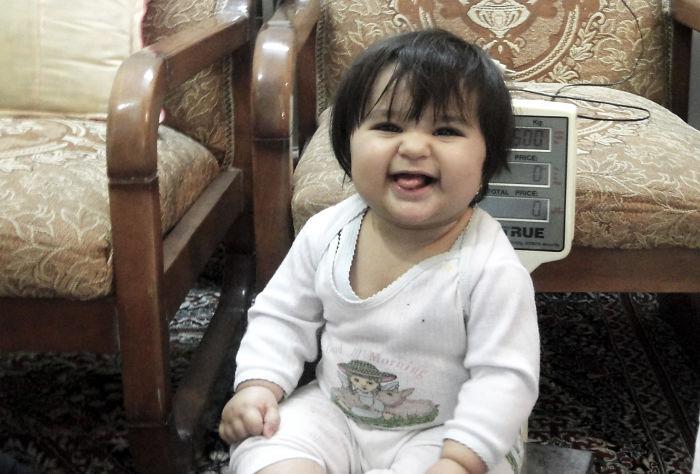 Tasnim,one Year Old Persian Girl