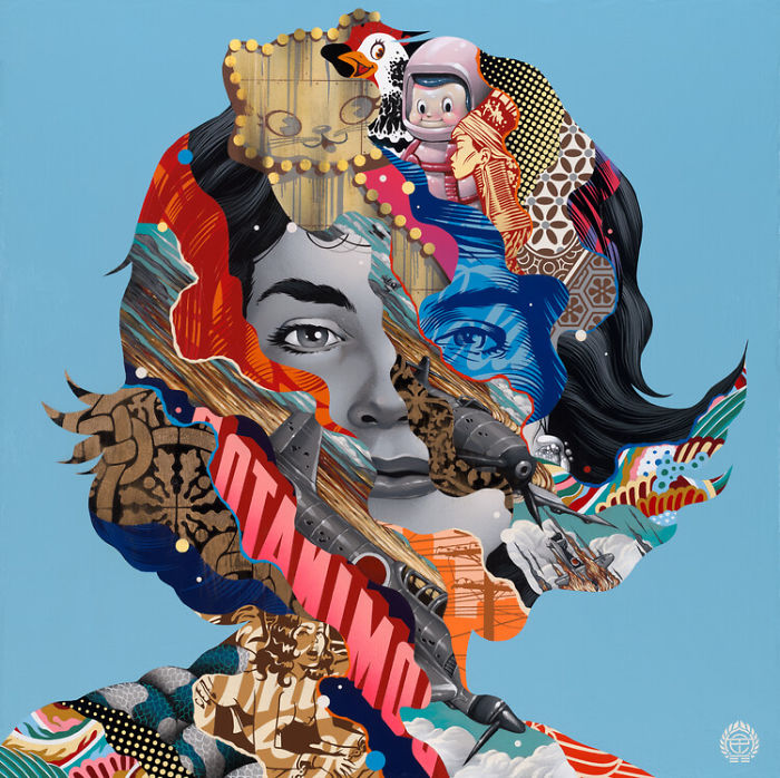 Colorful Street Art By Tristan Eaton