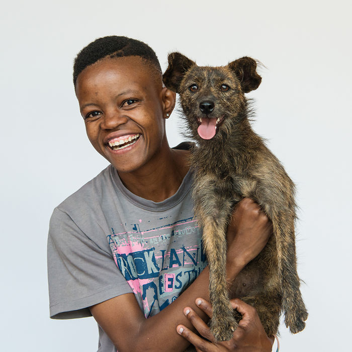 Portraits Of Dogs And Their Owners In Alexandra, Johannesburg