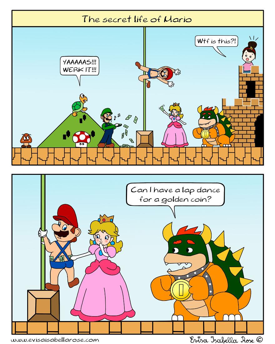 The Secret Life Of Mario