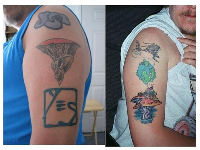 My Tattoos At Age 55 Done 25 Years Ago