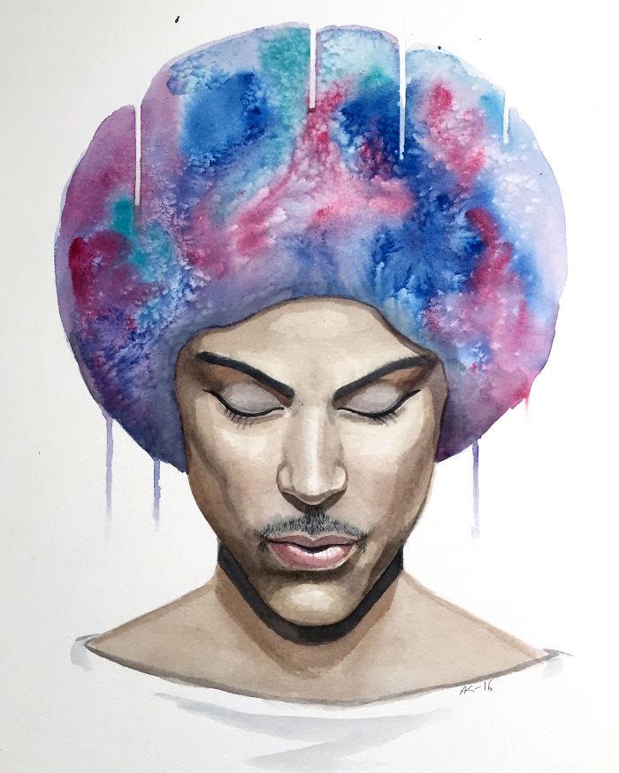 Purple Rain: I Painted A Tribute To Prince