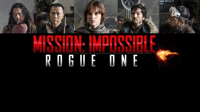 Rogue One's Jyn Erso Leading Mission Impossible! The Best Star Wars/mi Video Mashup Ever!