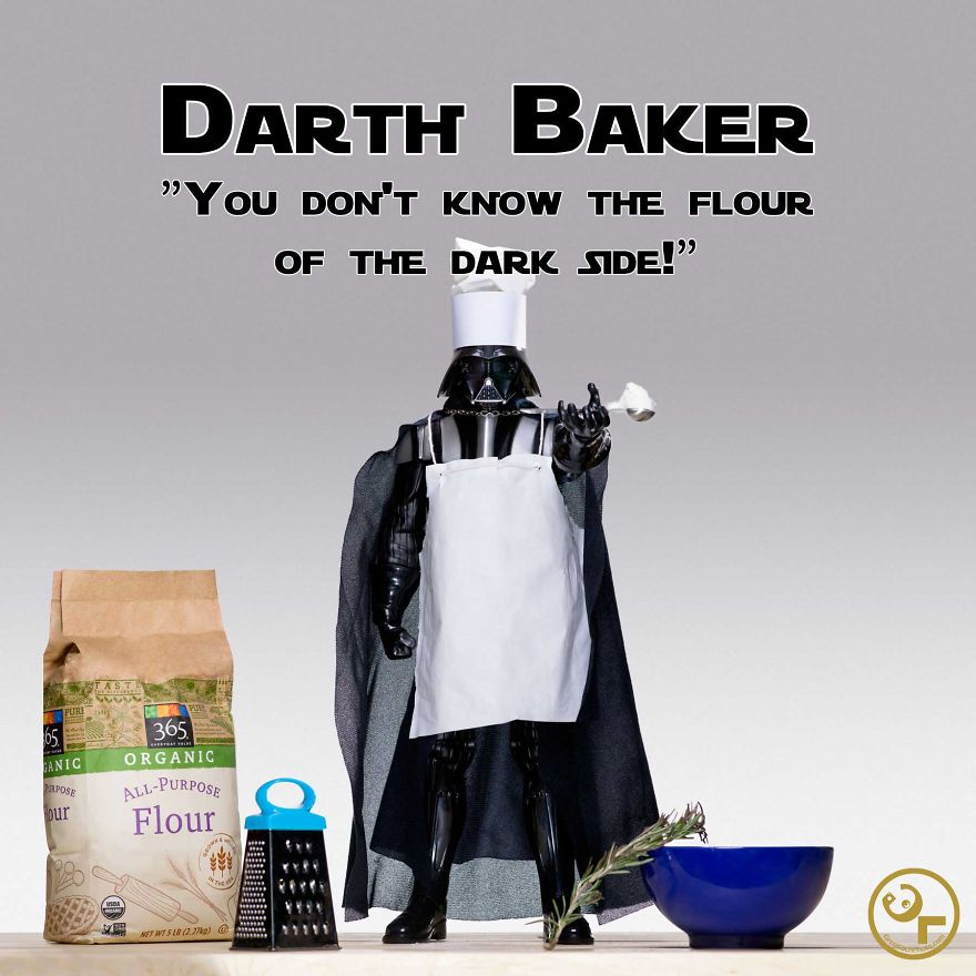 Darth Vader + Baking = Darth Baker