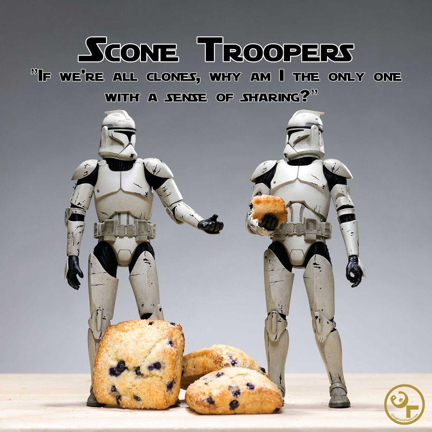 Clone Troopers + Scones = Scone Troopers