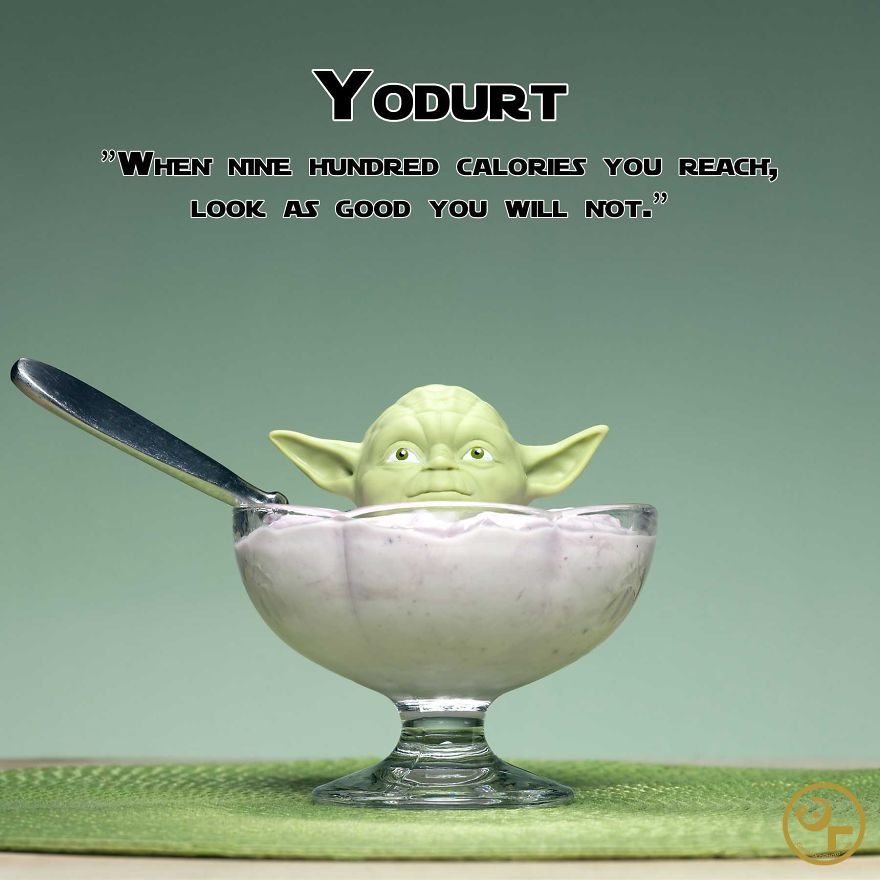 Yoda + Yogurt = Yodurt