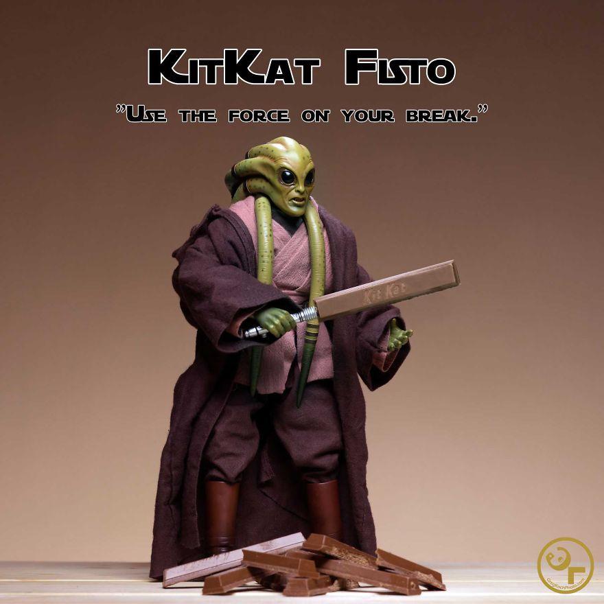 Kit Fisto + Kitkats = Kitkat Fisto