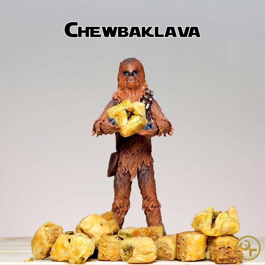 Chewbacca + Baklava = Chewbaklava