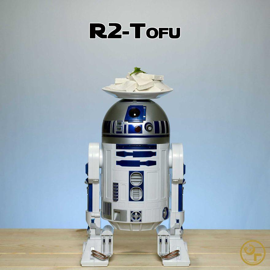 R2-d2 + Tofu = R2-tofu