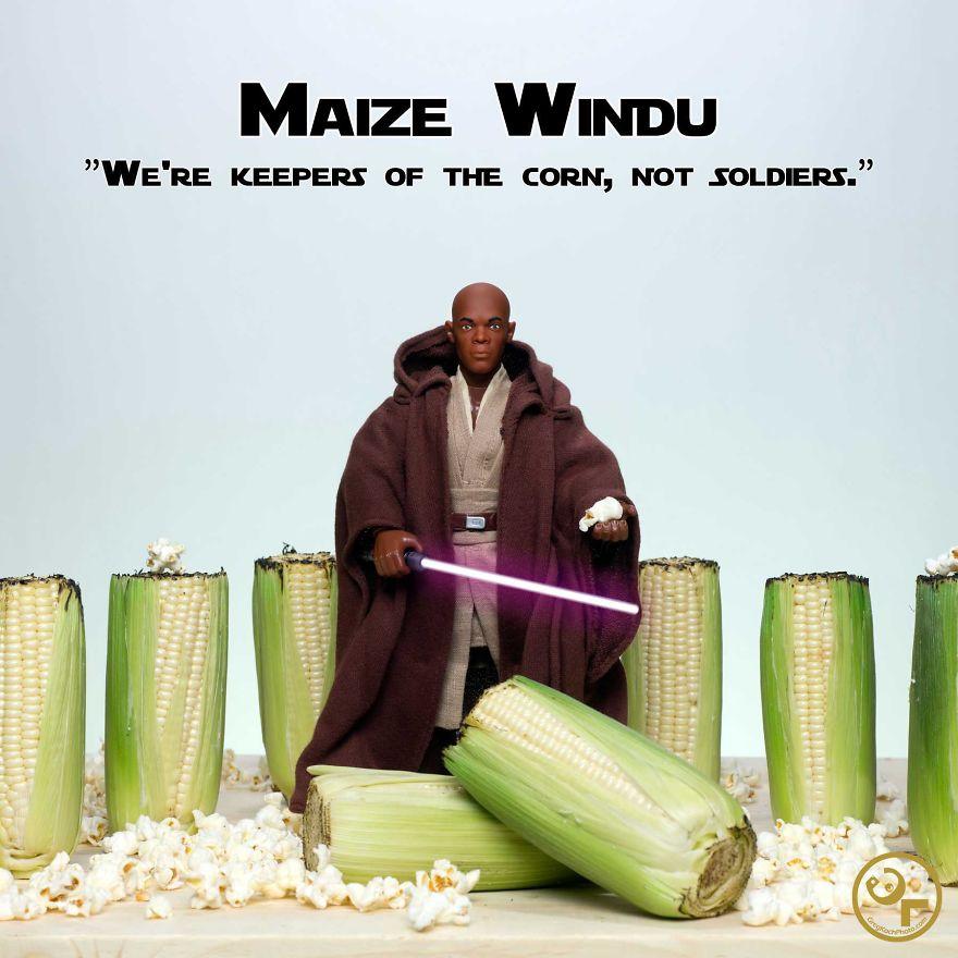 Mace Windu + Corn = Maize Windu