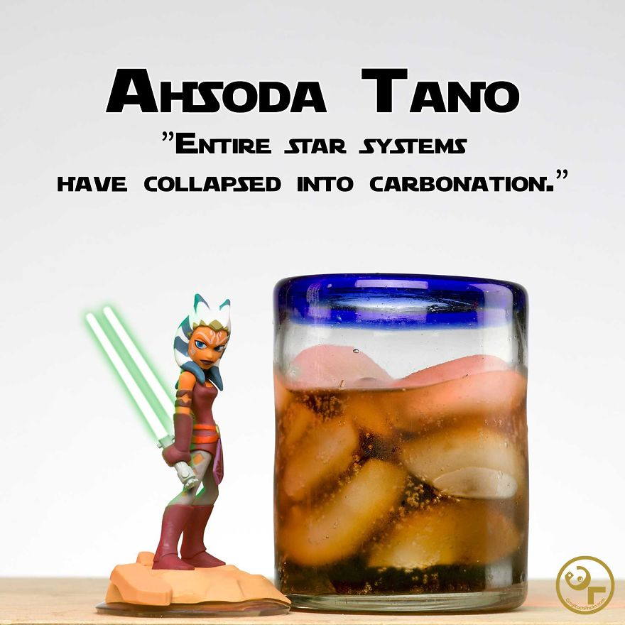 Ahsoka Tano + Soda = Ahsoda Tano