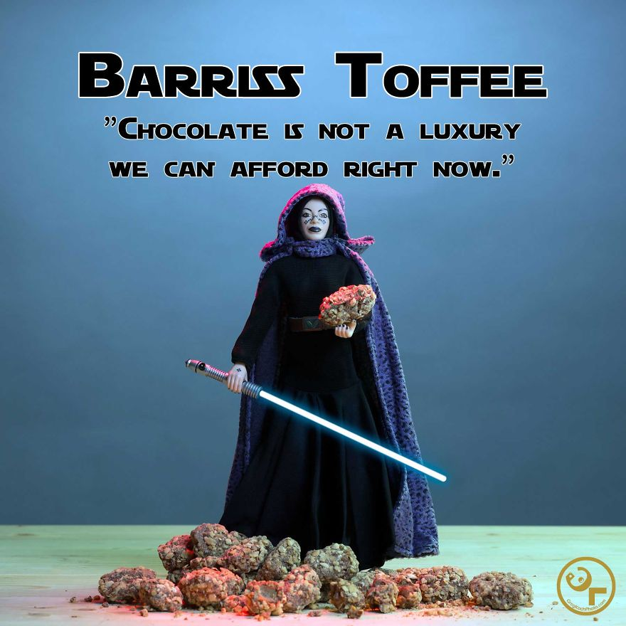 Barriss Offee + Toffee = Barriss Toffee