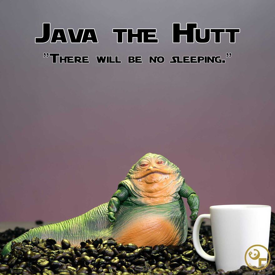 Jabba The Hutt + Coffee = Java The Hutt