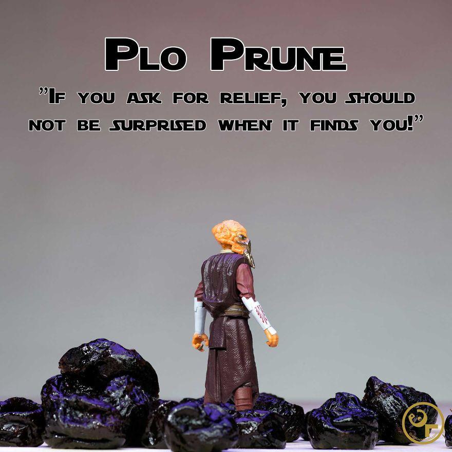 Plo Koon + Prunes = Plo Prune