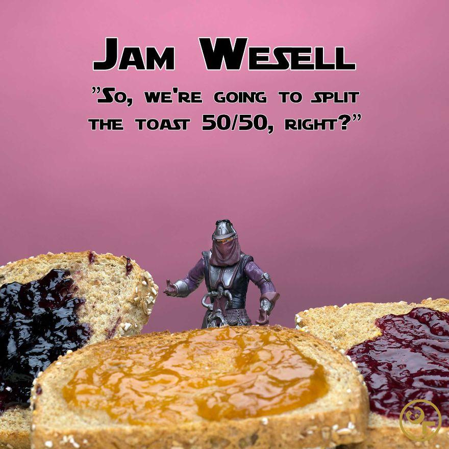 Zam Wesell +jam = Jam Wesell