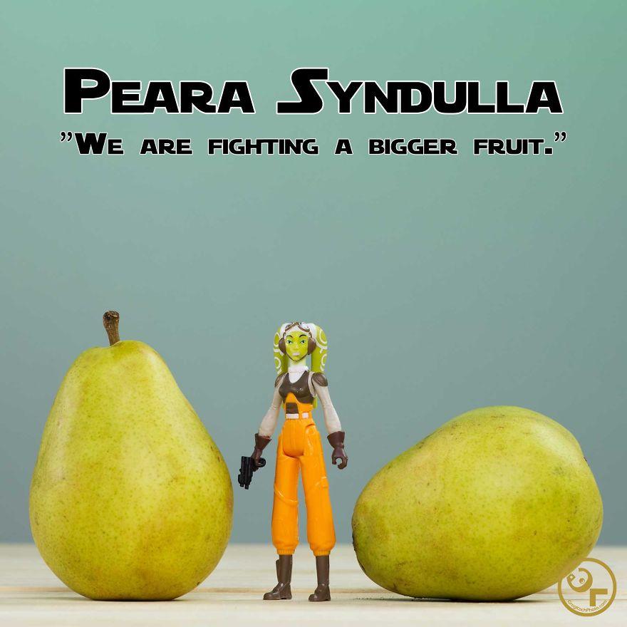 Hera Syndulla + Pears = Peara Syndulla