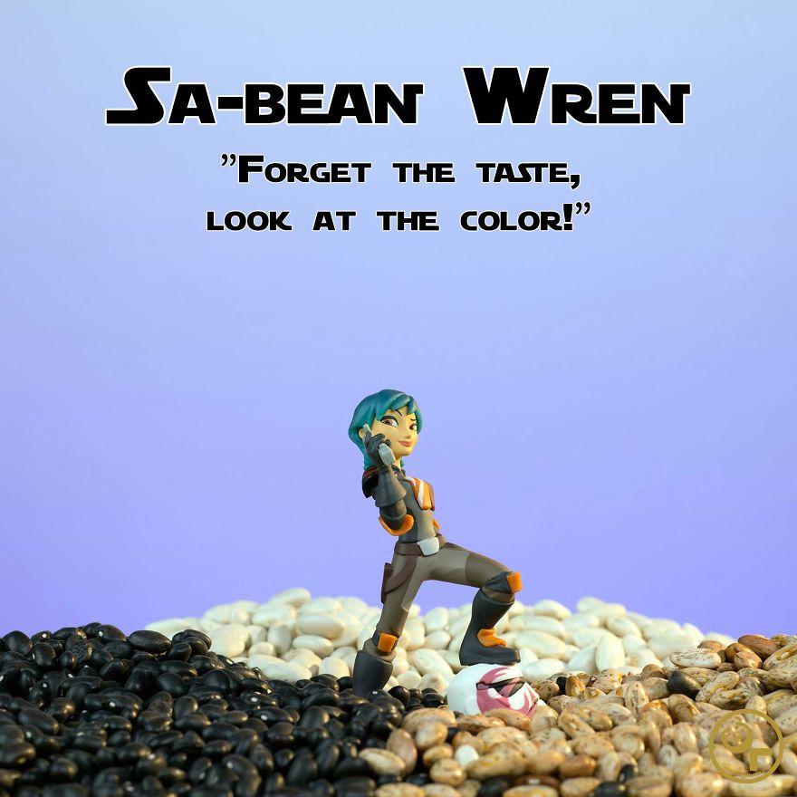 Sabine Wren + Beans = Sa-bean Wren