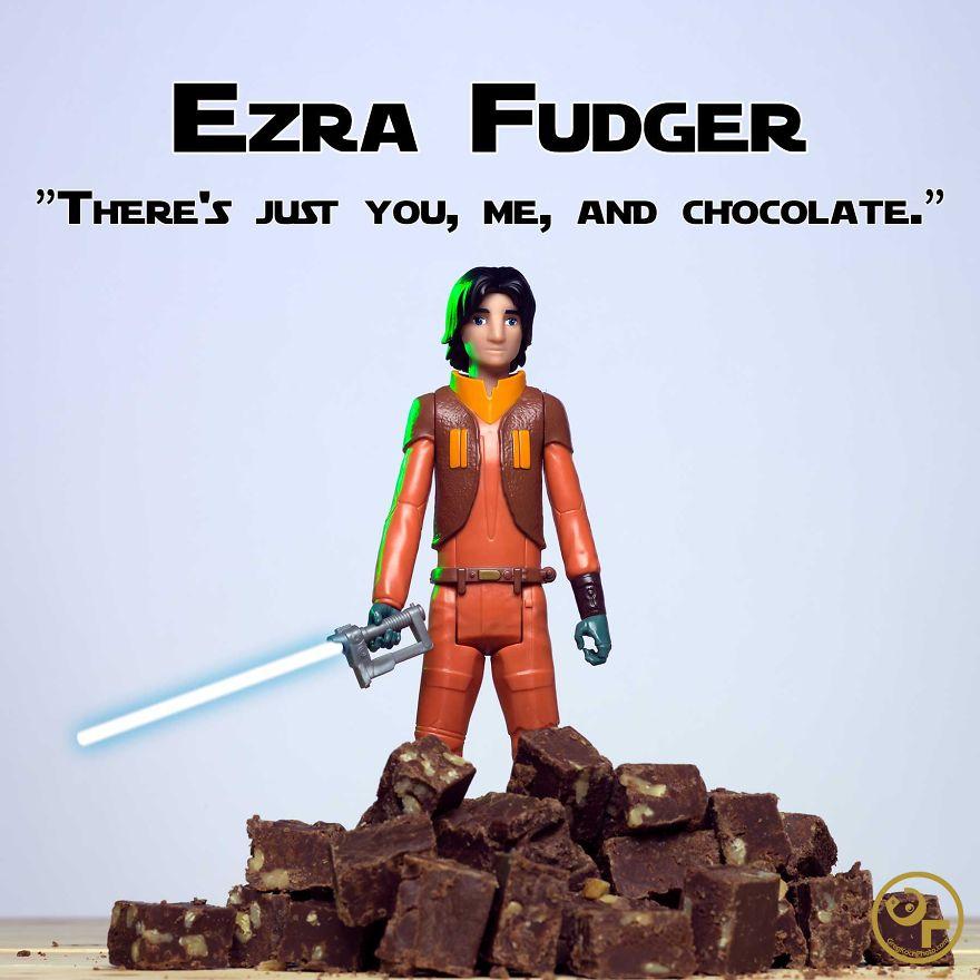 Ezra Bridger + Fudge = Ezra Fudger
