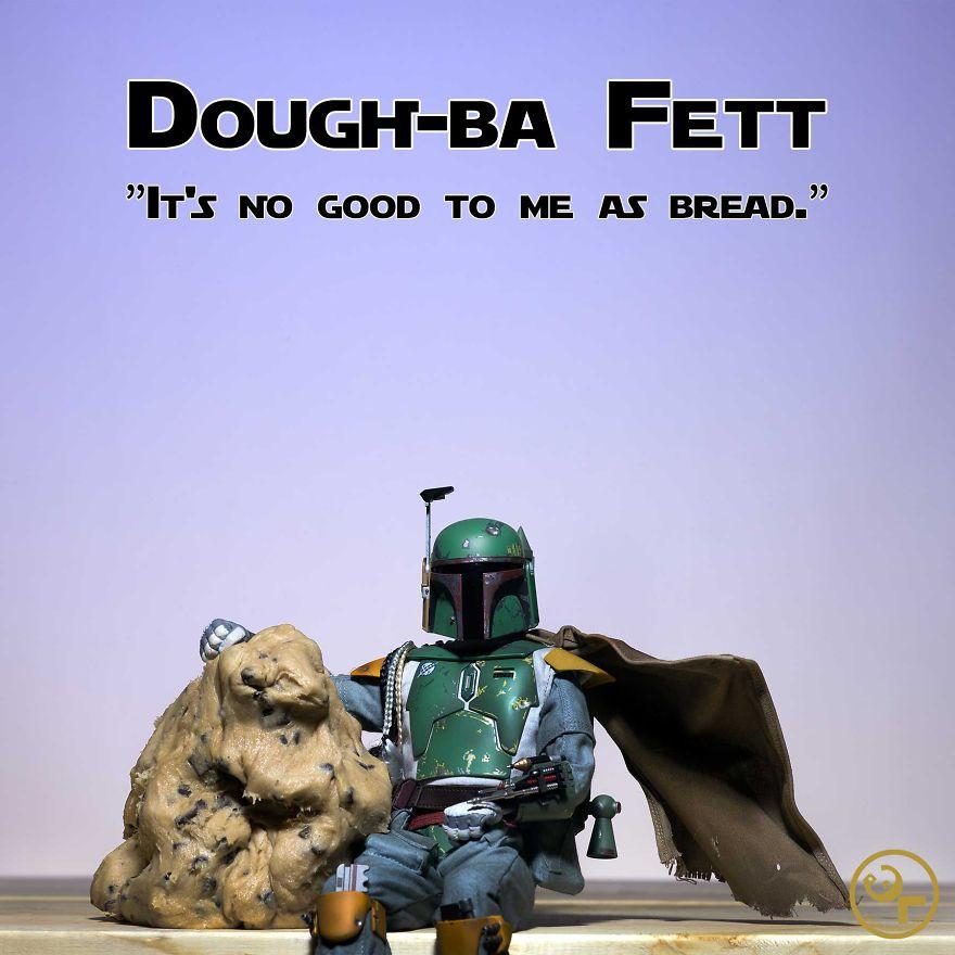 Boba Fett + Cookie Dough = Dough-ba Fett