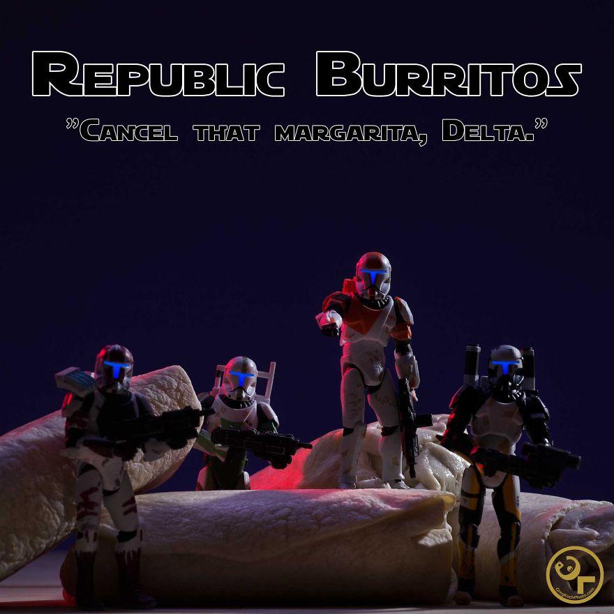 Republic Commandos + Burritos = Republic Burritos