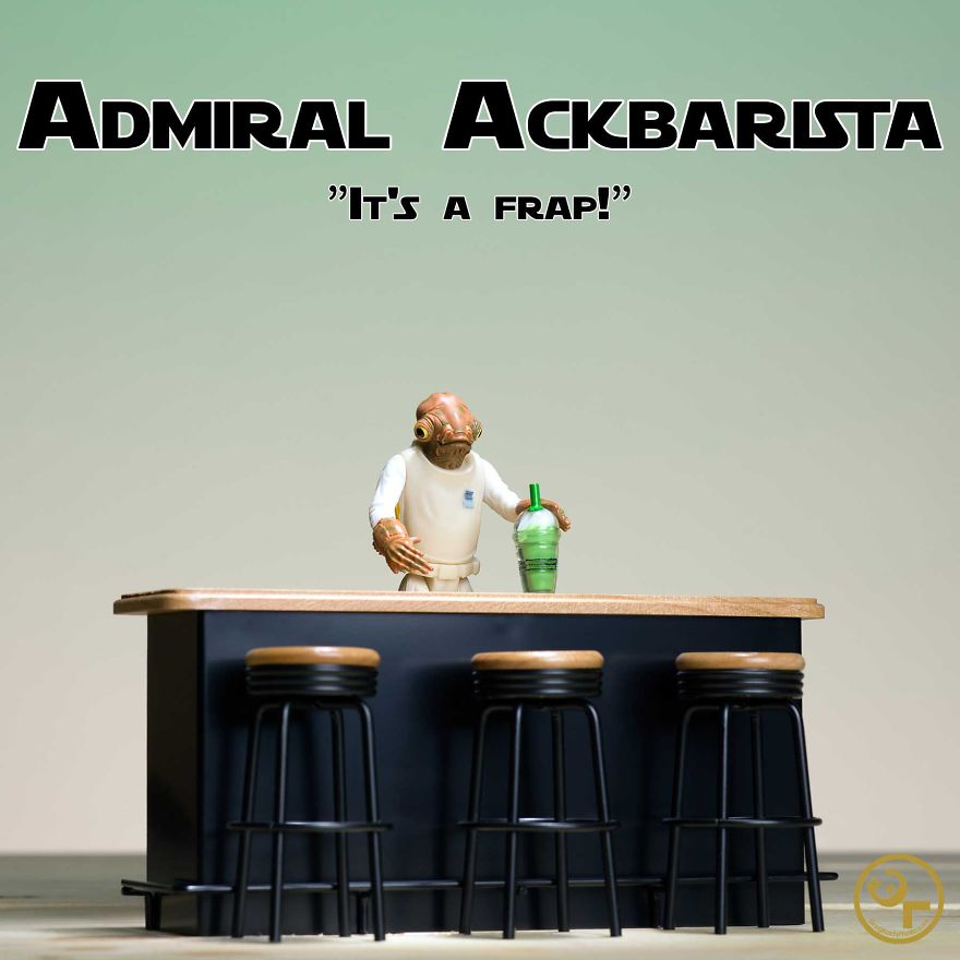 Admiral Ackbar + Starbucks = Admiral Ackbarista