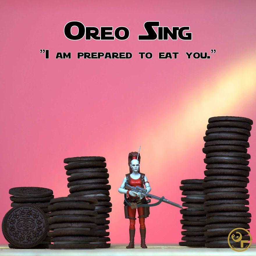 Aurra Sing + Oreos = Oreo Sing