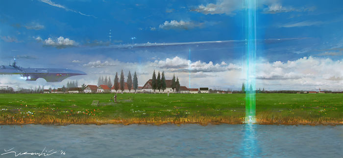 "Vojvodina 2230, A Personal Vision Of Future Where ""rural"" Intermingles With ""futurist""."