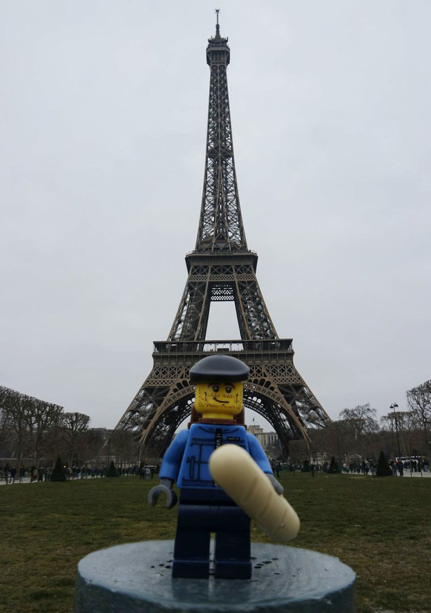 Lego Backpacker Is Taking Over The World