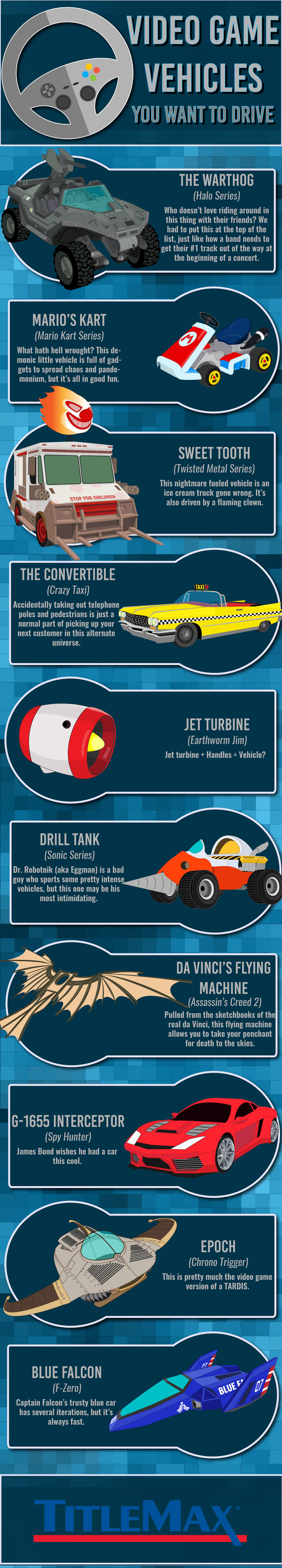 These Are Some Awesome Video Game Vehicles I Want To Drive
