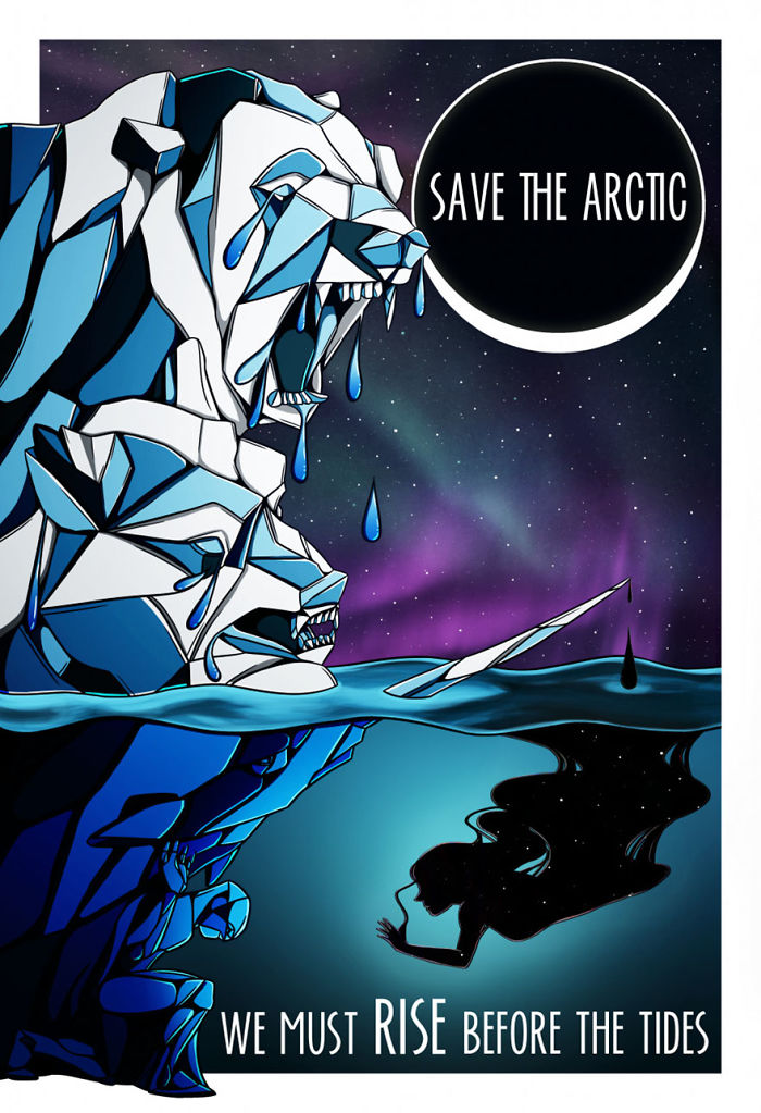 800 Artists Are Making Posters To Save The Arctic