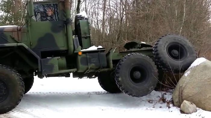 Military Vehicles In The Swamp