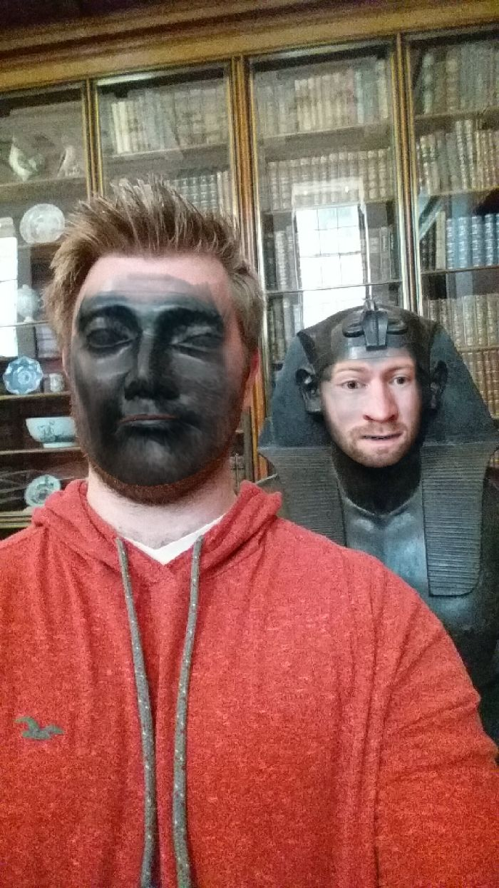 My Friend Went To The Museum And Tried Face Swap