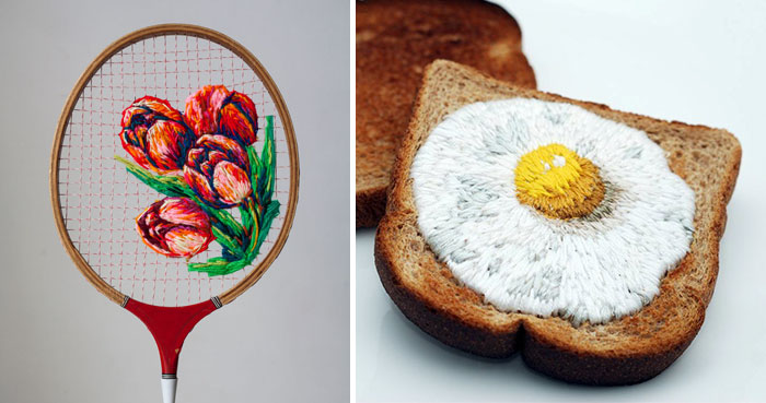 10+ Artists Who Took Embroidery To The Next Level