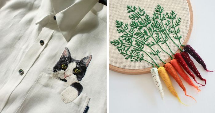 10 Artists Who Took Embroidery To The Next Level Bored Panda