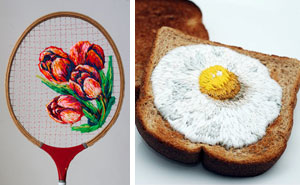 20 Artists Who Took Embroidery To The Next Level