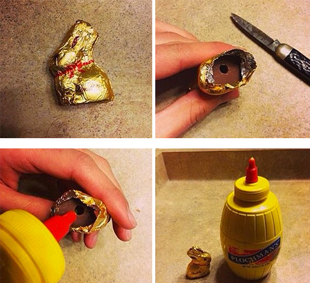 Easter Candy With A Small Surprise