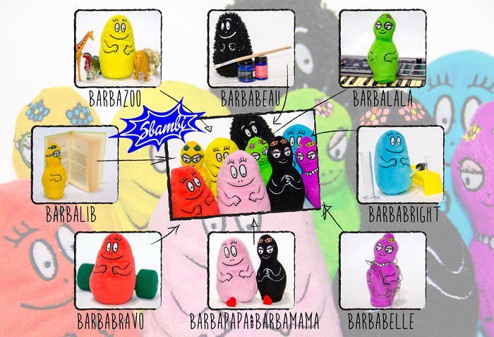 Barbapapa For Eco-friendly Kids Who Love Colors