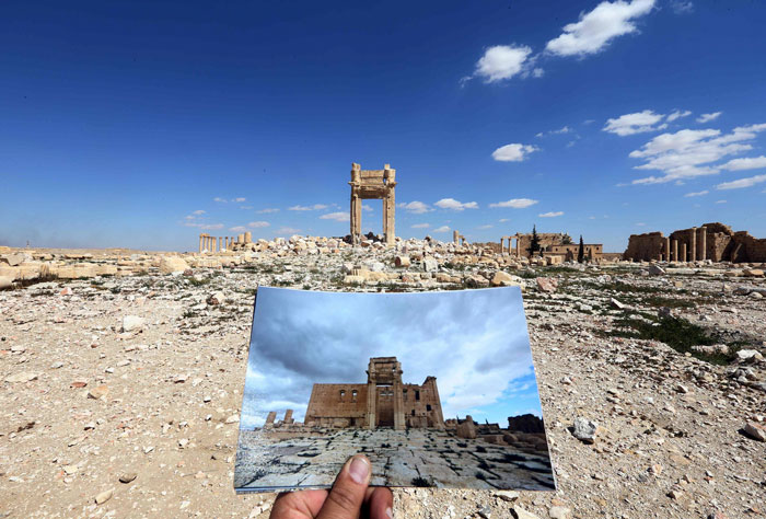 Before and After ISIS: Heartbreaking Photos Of Destroyed Historical Monuments In Syria