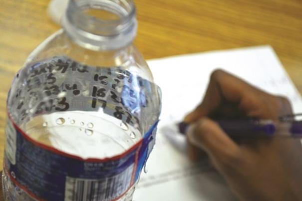 Water Bottle Cheat