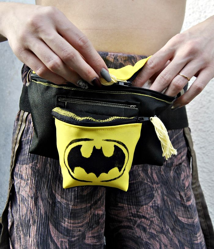 Romanian Designer Makes Pouches And Bags Out Of Garbage Fabric People Would Throw Away