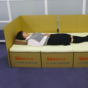 Boxes Into Beds: Brilliant Idea Helps Earthquake Victims In Japan