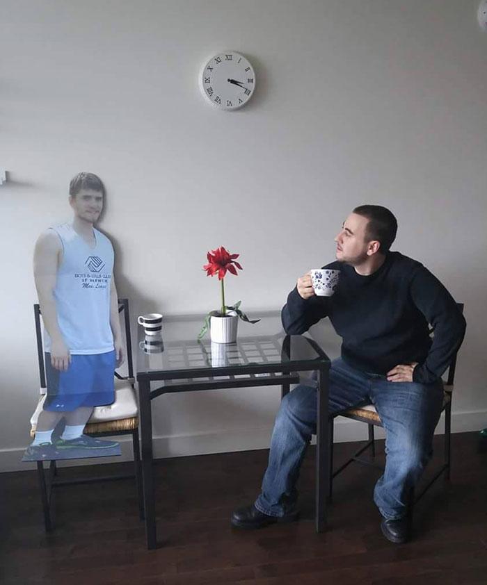cardboard-cutout-friend-kevin-birthday-trip-funny-prank-2