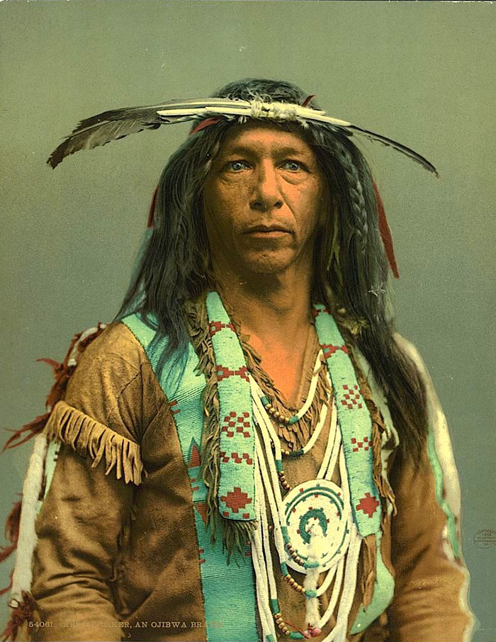 Arrowmaker, An Ojibwe Man. 1903